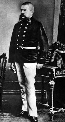 Le père d'Hitler, Aloïs Schickelgruber, fonctionnaire des douanes autrichiennes