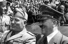 Le Führer et le Duce. Bientôt viendra le troisième, le Conducator. Mais le quatrième, le Caudillo, fera défaut
