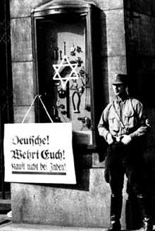 Avril 1933 : le boycott des magasins juifs à Berlin
