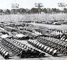 1938: défilé des troupes… ultime revue