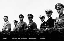 1935 : parade de la Wehrmacht désormais à la poigne du Führer