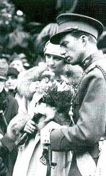 Le roi Léopold III et la Reine Astrid
