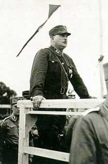 Ernst Röhm en 1934 : la principale victime de la « Nuit des Longs couteaux
