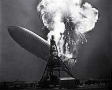 La catastrophe du Hindenburg à Lakehurst