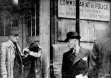 8 novembre 1938 : après son acte, Herschel Grynszpan est arrêté par la police française