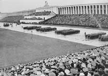 Défilé au congrès de Nuremberg, septembre 1936