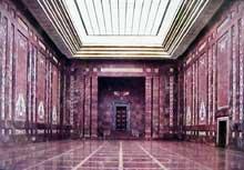 La nouvelle chancellerie du Reich : la salle des mosaïques