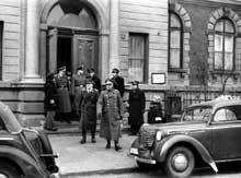 Le bâtiment du Judenrat de Varsovie