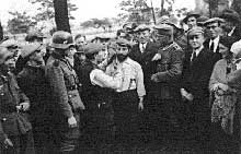 La Pologne à peine conquise, les premières exactions contre les Juifs commencent : ici à Tomaszow Masowiecky