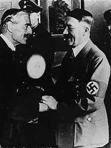 Munich, 29 septembre 1938: <a class=