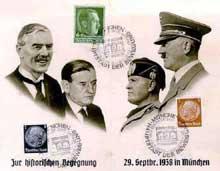 « Premier jour » commémorant Munich