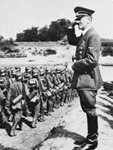 1 septembre 1939: le « Conquérant » salue ses troupes partant pour la Pologne