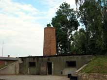 AuschwitzI: le crématoireI