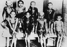 AuschwitzI: enfants rescapés et gravement brûlés, victimes des expériences