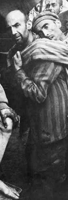 «Ce sont eux, les «Musulmänner», les damnés, le nerf du camp; eux, la masse continuellement renouvelée et toujours identique, des non-hommes en qui l'étincelle divine s'est éteinte, et qui marchent et peinent en silence, trop vides déjà pour souffrir vraiment…» (Primo Lévi. Si c'est un homme)