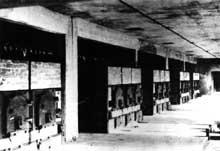 Auschwitz-Birkenau: les fours crématoires du KII