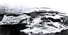 L'Ettersberg, près de Weimar: c'est là qu'est créé le camp de concentration de Buchenwald