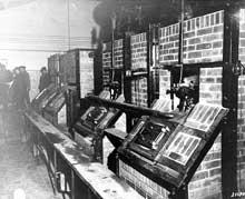 Les fours crématoires de Buchenwald