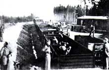 Buchenwald: le «Steinkommando», ou «Kommando des pierres», particulièrement meurtrier. Il est notamment chargé de construire la fameuse «Route du Sang»