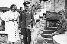 Buchenwald: le commandant Karl Koch et famille en 1936