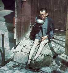 Buchenwald: rescapé. 18 avril 1945