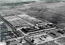 Dachau, vue aérienne