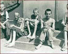 Dachau. La libération du camp. Mai 1945