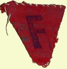Dachau: l'insigne d'un «Rouge français»