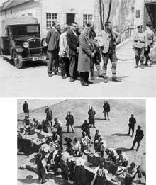 Dachau: les premiers détenus du camp