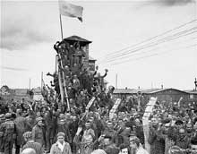 Dachau: la libération du camp commando d'Allach