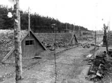 Dachau - Kaufering IV: camps camouflé pour éviter les bombardements anglai