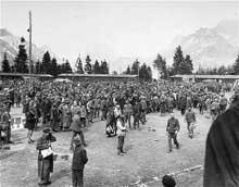 Ebensee: la libération du camp