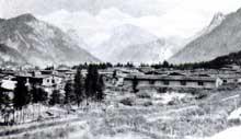 Ebensee: vue générale du camp