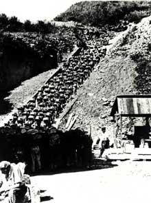 Mauthausen: les détenus dans l