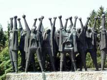 Mauthausen: le mémorial hongrois