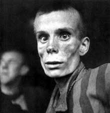 Mauthausen: visage d'un détenu russe... il a 18 ans