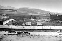 Mauthausen: le camp - kommando annexe de Melk sur le Danube