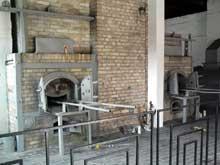 Ravensbrück: l'intérieur du crématorium