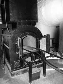Natzweiler – Struthof: le crématoire: le four.