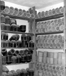 Natzwiller – Struthof: le crématoire: la «chambre des urnes»