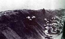 Liepaja-Libau (Lituanie): massacre de 23 communistes et de 2731 juifs..