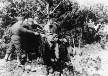 Région de Kovno, été 1941..