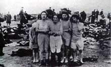 Lituanie. Juste avant l'exécution… Bataillon de police, sous les ordres du Dr.Dietrich