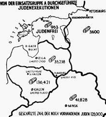 Le bilan de l'EinsatzgruppeA