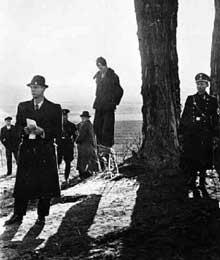 8 avril 1941: une pendaison par les SS en Pologne