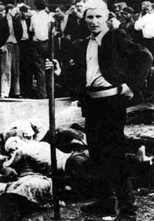 Kovno, juin 1941: le tueur et son trophée