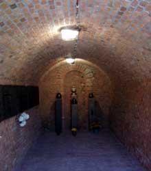 Poznan – Posen: la chambre à gaz du fortVII