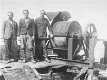 Lvov, camp de Janowska: moulin à os du Sonderkommando 100