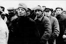 Odessa, 21 octobre 1941, peu avant l'exécution