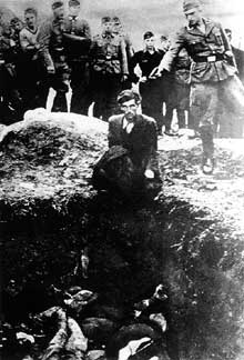 Russie: pour ce juif, une balle dans la nuque... EinsatzgruppeD, Vinica, Ukraine